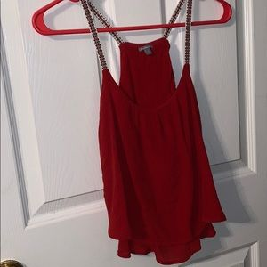 Red Charlotte Russe Tank